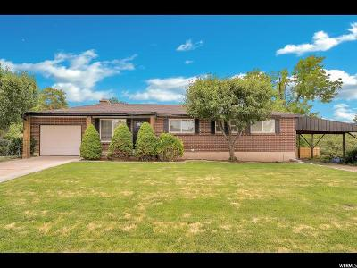Cottonwood Heights Single Family Home Under Contract: 2768 E Carole