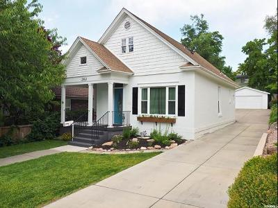 Salt Lake City Single Family Home Under Contract: 945 E 700 S. S