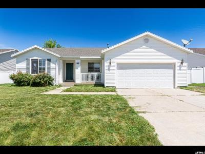 Roy Single Family Home Under Contract: 4052 W 5050 S