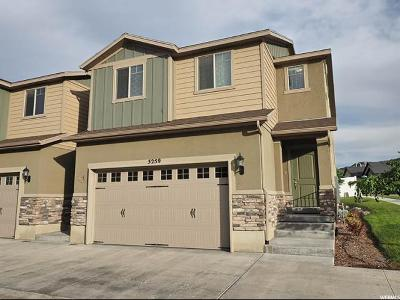 Herriman Townhouse Under Contract: 5259 W Lily Cv