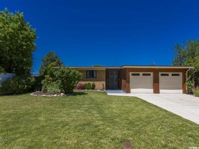 Salt Lake City Single Family Home For Sale: 4250 S Marquis Way E