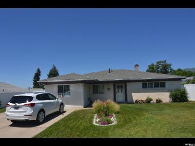 Bountiful Single Family Home For Sale: 109 E 3000 S