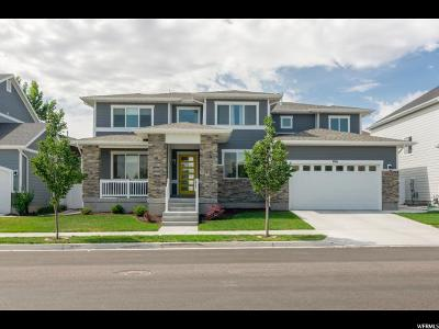 South Jordan Single Family Home Under Contract: 1961 W Santorini Dr