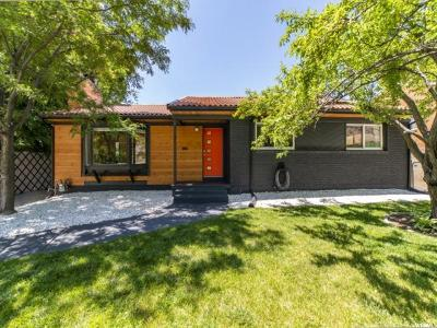 Ogden Single Family Home Under Contract: 3139 Taylor