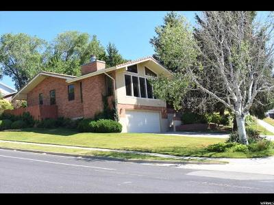 Cottonwood Heights Single Family Home For Sale: 7347 Lonsdale Dr S
