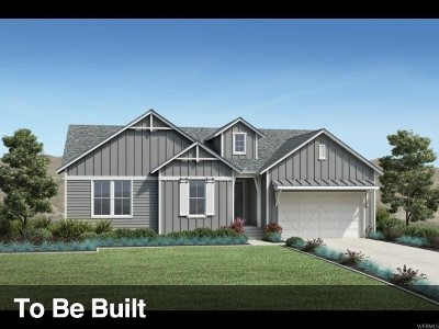 Herriman Single Family Home For Sale: 14938 S Upper Bend Dr #1