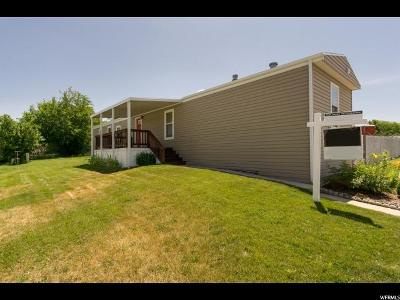 Roy Single Family Home Under Contract: 3750 S Midland Dr #149