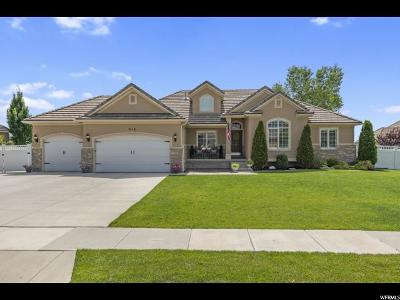 Kaysville Single Family Home Under Contract: 912 Wind Mill Ln