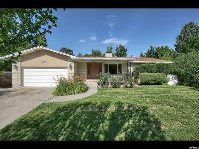 Cottonwood Heights Single Family Home For Sale: 8156 S Oak Creek Dr.
