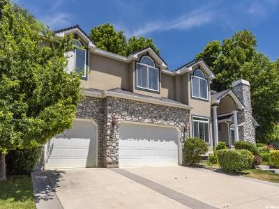 Cottonwood Heights Single Family Home For Sale: 2679 E Grand Vista Way S