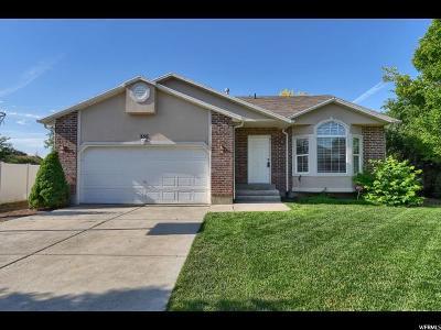 Layton Single Family Home For Sale: 356 E 1325 N