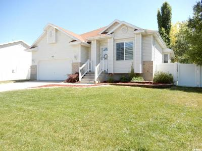 Clinton Single Family Home Under Contract: 907 W 1520 N