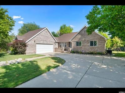 Layton Single Family Home Under Contract: 1513 E Antelope Dr