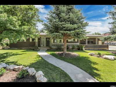 Ogden Single Family Home Under Contract: 5346 S Arrowhead Ln E