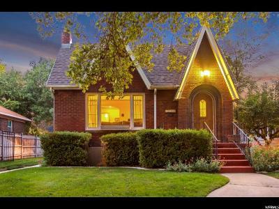 Salt Lake City Single Family Home Backup: 2690 S Alden St