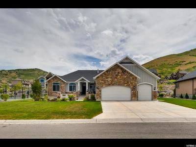 Herriman Single Family Home Backup: 5537 W Lake Ridge Cir S