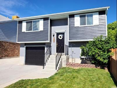 West Jordan Single Family Home Under Contract: 7972 S Linton Dr W