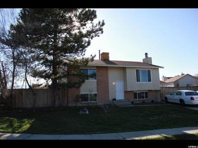 West Jordan Single Family Home For Sale: 8744 S 3720 W
