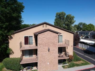 Salt Lake City Condo Under Contract: 856 E Cedar Pine Ct S #30