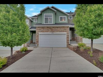 Lehi Townhouse For Sale: 4295 N Cresthaven Ln