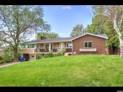 Salt Lake City Single Family Home Under Contract: 3285 E Bernada Dr