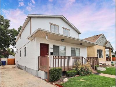 Salt Lake City Single Family Home For Sale: 779 E Roosevelt Ave S