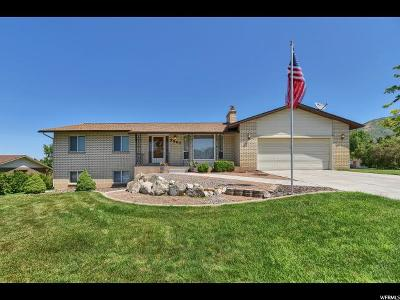 Layton Single Family Home For Sale: 2567 E Sunset Dr N