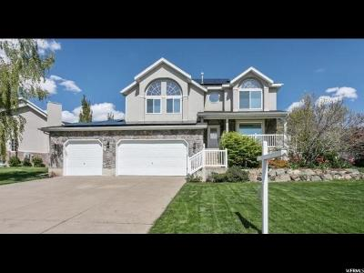 Fruit Heights Single Family Home For Sale: 158 N Country Ln