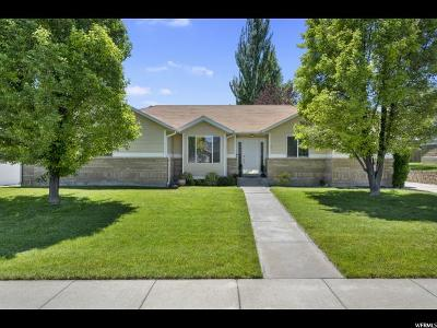 West Jordan Single Family Home For Sale: 4879 W 8740 S