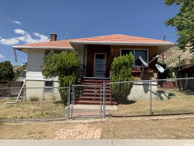 East Carbon UT Single Family Home For Sale: $69,900