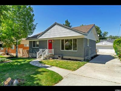 Salt Lake City Single Family Home For Sale: 2925 S Zenith Cir E