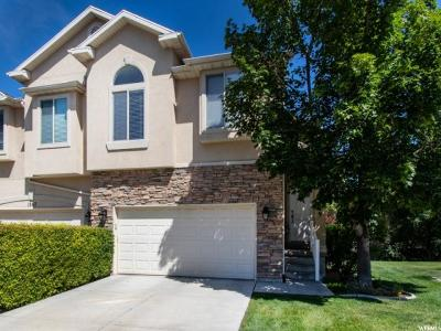 Salt Lake City Townhouse For Sale: 1369 E Old Maple Ct