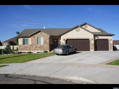 Santaquin Single Family Home For Sale: 1285 Sycamore