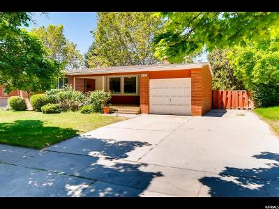 American Fork Single Family Home Under Contract: 837 N 100 E
