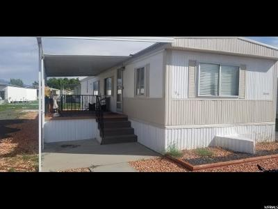 Roy Single Family Home For Sale: 3800 S 1900 W #96