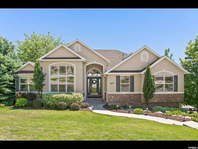 Cedar Hills Single Family Home Under Contract: 3477 W Tibble Fork Cir