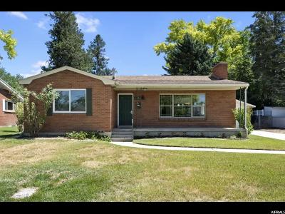 Salt Lake City Single Family Home Under Contract: 4593 S Creekview Dr E