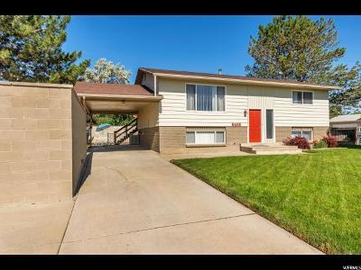 West Jordan Single Family Home For Sale: 6468 S Kentucky Dr