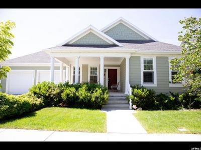 South Jordan Single Family Home For Sale: 4497 W Sebago Way