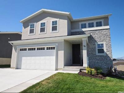 Saratoga Springs Single Family Home For Sale: 76 W Swainson
