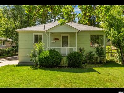 South Ogden Single Family Home For Sale: 3655 S Orchard Ave