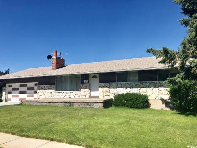 Bountiful Single Family Home Under Contract: 1616 S 100 E