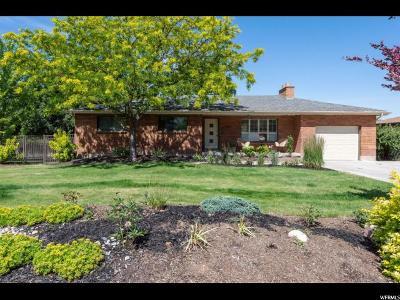 Salt Lake City Single Family Home For Sale: 3540 S El Serrito Dr