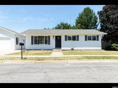 Cottonwood Heights Single Family Home For Sale: 1635 E 7080 S