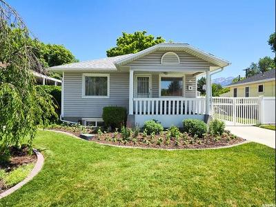 Salt Lake City Single Family Home Under Contract: 2621 S 500 E