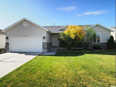 Herriman Single Family Home For Sale: 4753 W Gold Miners Pl S