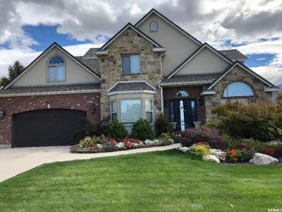 Kaysville Single Family Home For Sale: 1117 S Via La Costa