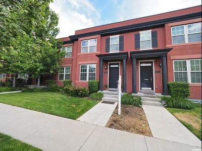 South Jordan Townhouse Under Contract: 10619 S Oquirrh Lake Rd W
