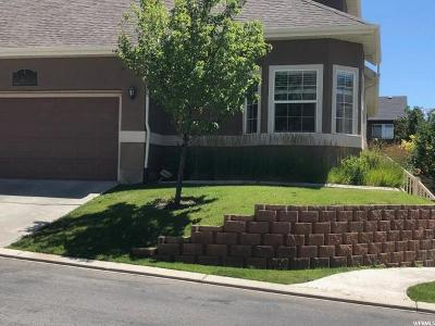 Lehi Townhouse For Sale: 3168 N Provence Ln W