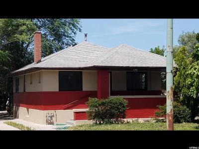 Midvale Single Family Home For Sale: 242 W Center St